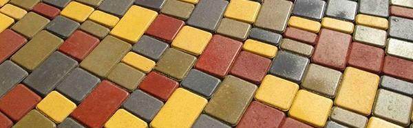 Вибролитая (литая) тротуарная плитка